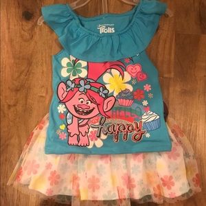 Dresses & Skirts - Trolls dress for girls